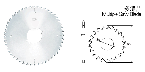 Multiple Saw Blade